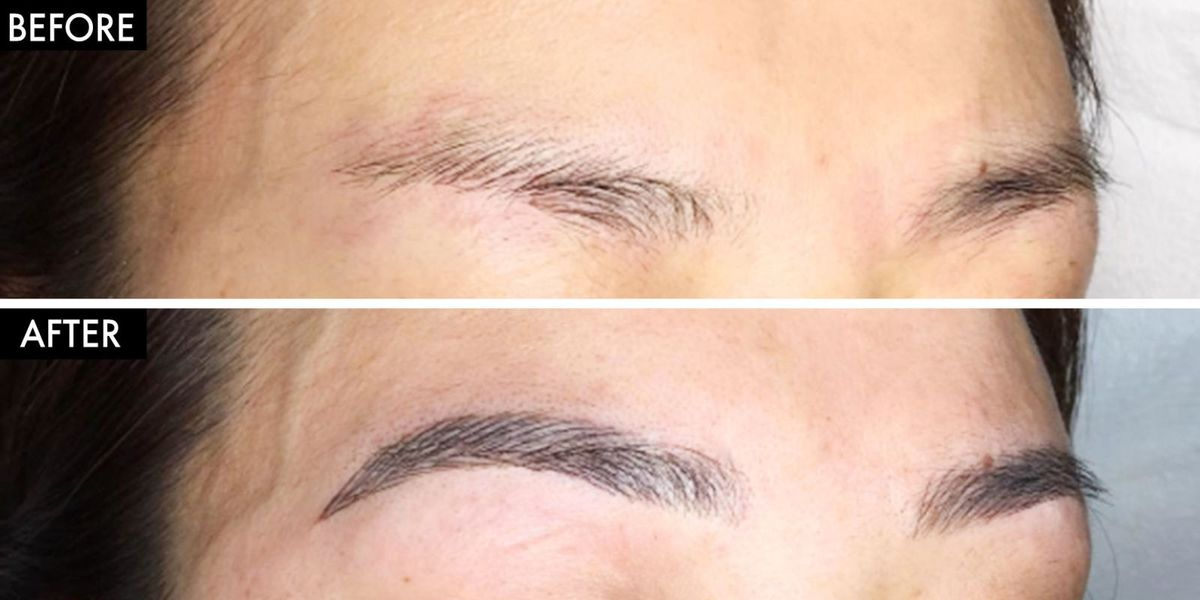 What Is Eyebrow Microblading How To Get Semi Permanent