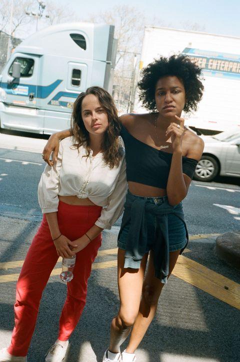 Sofia Geld and Rebeca Huntt