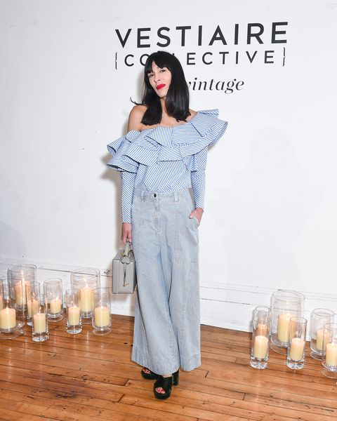 "<p>At the Chloë Sevigny and Kate Foley launch of Vintage on Vestiaire Collective<span class=""redactor-invisible-space"" data-verified=""redactor"" data-redactor-tag=""span"" data-redactor-class=""redactor-invisible-space"">&nbsp;on May 10, 2017&nbsp;<span class=""redactor-invisible-space"" data-verified=""redactor"" data-redactor-tag=""span"" data-redactor-class=""redactor-invisible-space"">in New York City. </span><span class=""redactor-invisible-space"" data-verified=""redactor"" data-redactor-tag=""span"" data-redactor-class=""redactor-invisible-space""></span></span></p>"