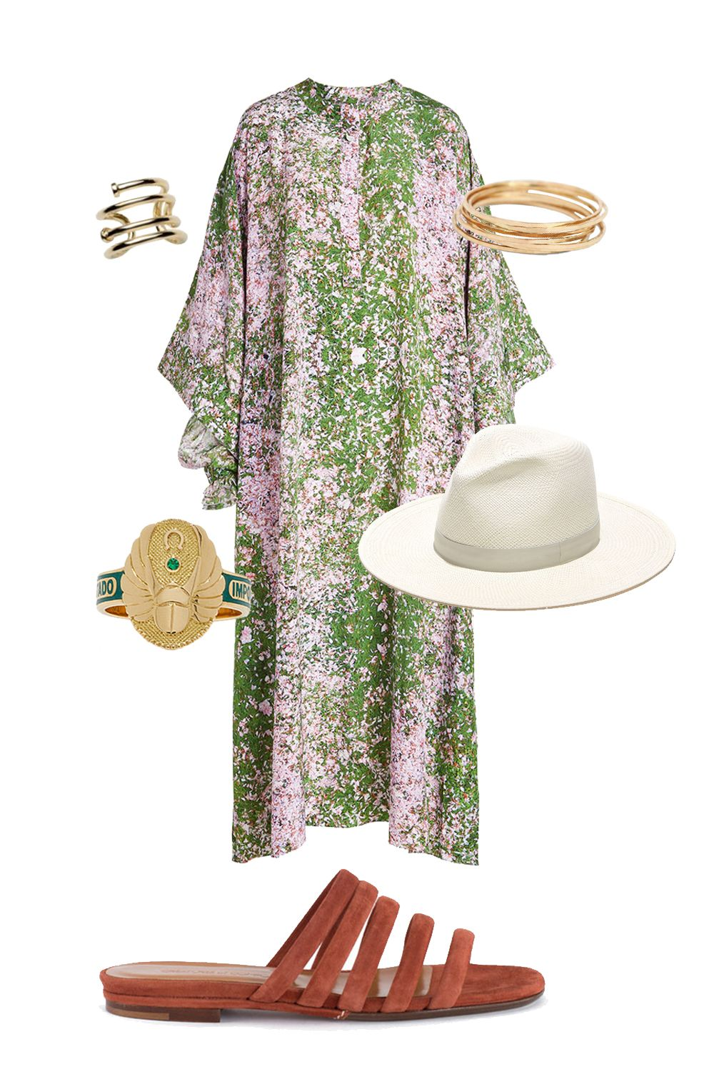 "<p>Festival-goer or headliner? With flamboyant Jupiter in your fame zone this festival season, you're sure to wind up on the style bloggers' feeds. Dress like you own the mainstage! Creat an outfit around insanely colorful 1970s tunics and muumuus. Accessorize with a wide-brimmed fedora, tons of rings (Gemini rules the hands) and a guitar, if you play. Stick to flat, comfortable sandals, so you can dance 'til dawn.</p><p><em data-redactor-tag=""em"" data-verified=""redactor"">Natasha Zinko Printed Silk Dress, $1, 299; <a href=""https://www.stylebop.com/en-us/women/printed-silk-dress-264583.html"">stylebop.com</a> </em></p><p><em data-redactor-tag=""em"" data-verified=""redactor"">Catbird Threadbare Ring, $44 each; <a href=""https://www.catbirdnyc.com/jewelry/rings/threadbare-ring-yellow-gold.html"">catbirdnyc.com</a> </em></p><p><em data-redactor-tag=""em"" data-verified=""redactor"">Jennifer Fisher Pipe Pinky Ring, $165; <a href=""https://jenniferfisherjewelry.com/jewelry/rings-17/pipe-pinky-ring"">jenniferfisherjewelry.com</a> </em></p><p><em data-redactor-tag=""em"" data-verified=""redactor"">Foundrae Protection Cigarband, $2,850; <a href=""https://www.modaoperandi.com/foundrae-fw17/protection-cigarband?gclid=CNP1pem25tMCFRlWDQodHcEPQw#zoom"">modaoperandi.com</a> </em></p><p><em data-redactor-tag=""em"" data-verified=""redactor"">Creatures of Comfort Cinnamon Como Slide, $395; <a href=""http://bonadrag.com/creaturesofcomfort-cinnamon-como-slide"">bonadrag.com</a> </em></p><p><em data-redactor-tag=""em"" data-verified=""redactor"">Janessa Leoné Aisley Hat, $250; </em><a href=""https://janessaleone.com/collections/straw/products/aisley-1""><em data-redactor-tag=""em"" data-verified=""redactor"">janessaleone.com</em></a></p>"
