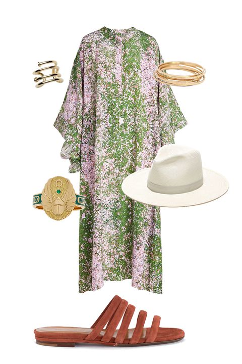 "<p>Festival-goer or headliner? With flamboyant Jupiter in your fame zone this festival season, you're sure to wind up on the style bloggers' feeds. Dress like you own the mainstage! Creat an outfit around insanely colorful 1970s tunics and muumuus. Accessorize with a wide-brimmed fedora, tons of rings (Gemini rules the hands) and a guitar, if you play. Stick to flat, comfortable sandals, so you can dance 'til dawn.</p><p><em data-redactor-tag=""em"" data-verified=""redactor"">Natasha Zinko Printed Silk Dress, $1, 299; <a href=""https://www.stylebop.com/en-us/women/printed-silk-dress-264583.html"">stylebop.com</a>&nbsp;</em></p><p><em data-redactor-tag=""em"" data-verified=""redactor"">Catbird Threadbare Ring, $44 each; <a href=""https://www.catbirdnyc.com/jewelry/rings/threadbare-ring-yellow-gold.html"">catbirdnyc.com</a>&nbsp;</em></p><p><em data-redactor-tag=""em"" data-verified=""redactor"">Jennifer Fisher Pipe Pinky Ring, $165; <a href=""https://jenniferfisherjewelry.com/jewelry/rings-17/pipe-pinky-ring"">jenniferfisherjewelry.com</a>&nbsp;</em></p><p><em data-redactor-tag=""em"" data-verified=""redactor"">Foundrae Protection Cigarband, $2,850; <a href=""https://www.modaoperandi.com/foundrae-fw17/protection-cigarband?gclid=CNP1pem25tMCFRlWDQodHcEPQw#zoom"">modaoperandi.com</a>&nbsp;</em></p><p><em data-redactor-tag=""em"" data-verified=""redactor"">Creatures of Comfort Cinnamon Como Slide, $395; <a href=""http://bonadrag.com/creaturesofcomfort-cinnamon-como-slide"">bonadrag.com</a>&nbsp;</em></p><p><em data-redactor-tag=""em"" data-verified=""redactor"">Janessa Leoné Aisley Hat, $250; </em><a href=""https://janessaleone.com/collections/straw/products/aisley-1""><em data-redactor-tag=""em"" data-verified=""redactor"">janessaleone.com</em></a></p>"