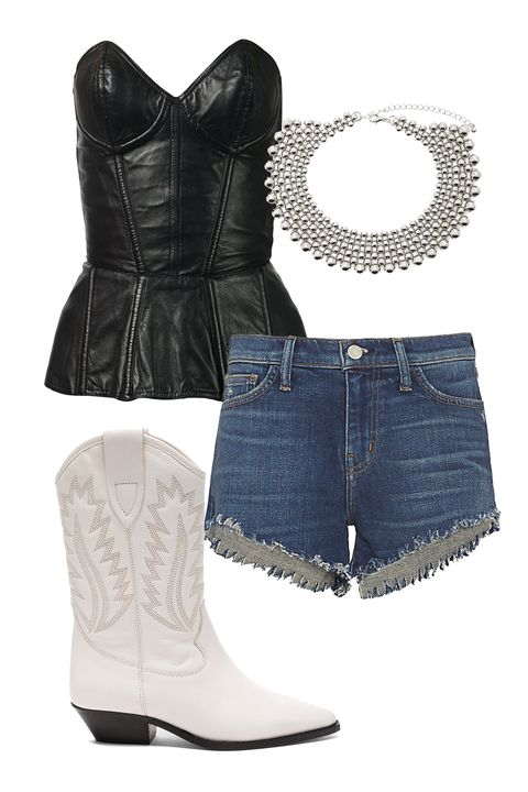 "<p>Your 2017 astrological style challenge: To merge the urge for comfort with the siren's song of your inner seductress. Nail that elusive paradox by building an outfit around a badass leather bustier. (Real or vegan, your choice.) Wear with a long skirt—or itty-bitty denim shorts—and cowboy-style booties. Your sign rules the throat so don't forget the essential accessory: a statement choker. The bigger and more ornate, the better.</p><p><em data-redactor-tag=""em"" data-verified=""redactor"">L'Agence Zoe Perfect Blue Shorts, $185; <a href=""https://www.intermixonline.com/product/l%27agence+zoe+perfect+blue+shorts.do?sortby=ourPicks&amp;from=fn&amp;"">intermixonline.com</a>&nbsp;</em></p><p><em data-redactor-tag=""em"" data-verified=""redactor"">Isabel Marant Etoile Leather Dallin Boots, $780; <a href=""http://www.fwrd.com/product-leather-dallin-boots/ETOI-WZ47/?d=Womens"">fwrd.com</a>&nbsp;</em></p><p><em data-redactor-tag=""em"" data-verified=""redactor"">Fleur du Mal Leather Bustier, $1,917; <a href=""https://www.farfetch.com/ca/shopping/women/fleur-du-mal-leather-bustier-item-11025410.aspx?storeid=9795&amp;from=search&amp;ffref=lp_pic_24_20_"">farfetch.com</a>&nbsp;</em></p><p><em data-redactor-tag=""em"" data-verified=""redactor"">Forever 21 Ball Chain Choker, $14; </em><a href=""http://www.forever21.com/Product/Product.aspx?br=F21&amp;category=ACC&amp;productid=1000084305""><em data-redactor-tag=""em"" data-verified=""redactor"">forever21.com</em></a></p>"