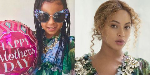 Beyonce's mother's day with Blue Ivy