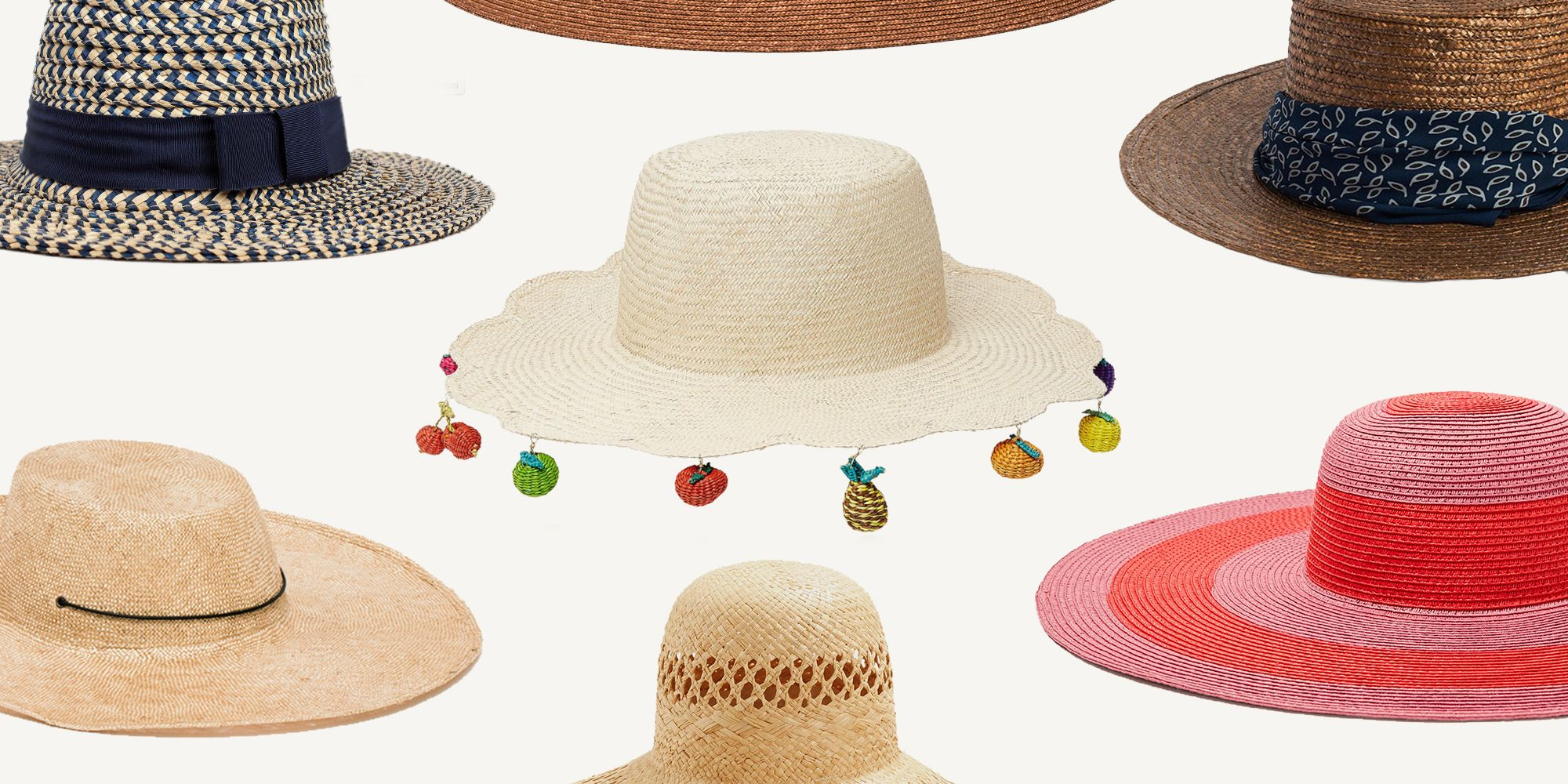 2e08b913d2a 15 Classic Straw Hats for Summer 2017 - Best Sun Hats to Wear to the Beach