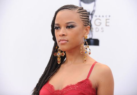 "<p><span>We love traditional cornrows, but there's something a bit </span><em data-redactor-tag=""em"">sexier</em><span> about side cornrows. ""One great way to extend the life of braids is to get touch ups on the braids every three weeks,"" explains celebrity curly textured expert and author of ""Textured Tresses,"" Diane Da Costa. ""This will keep your braids looking fresh </span><em data-redactor-tag=""em"">and</em><span> extend the life of the style.""</span></p>"