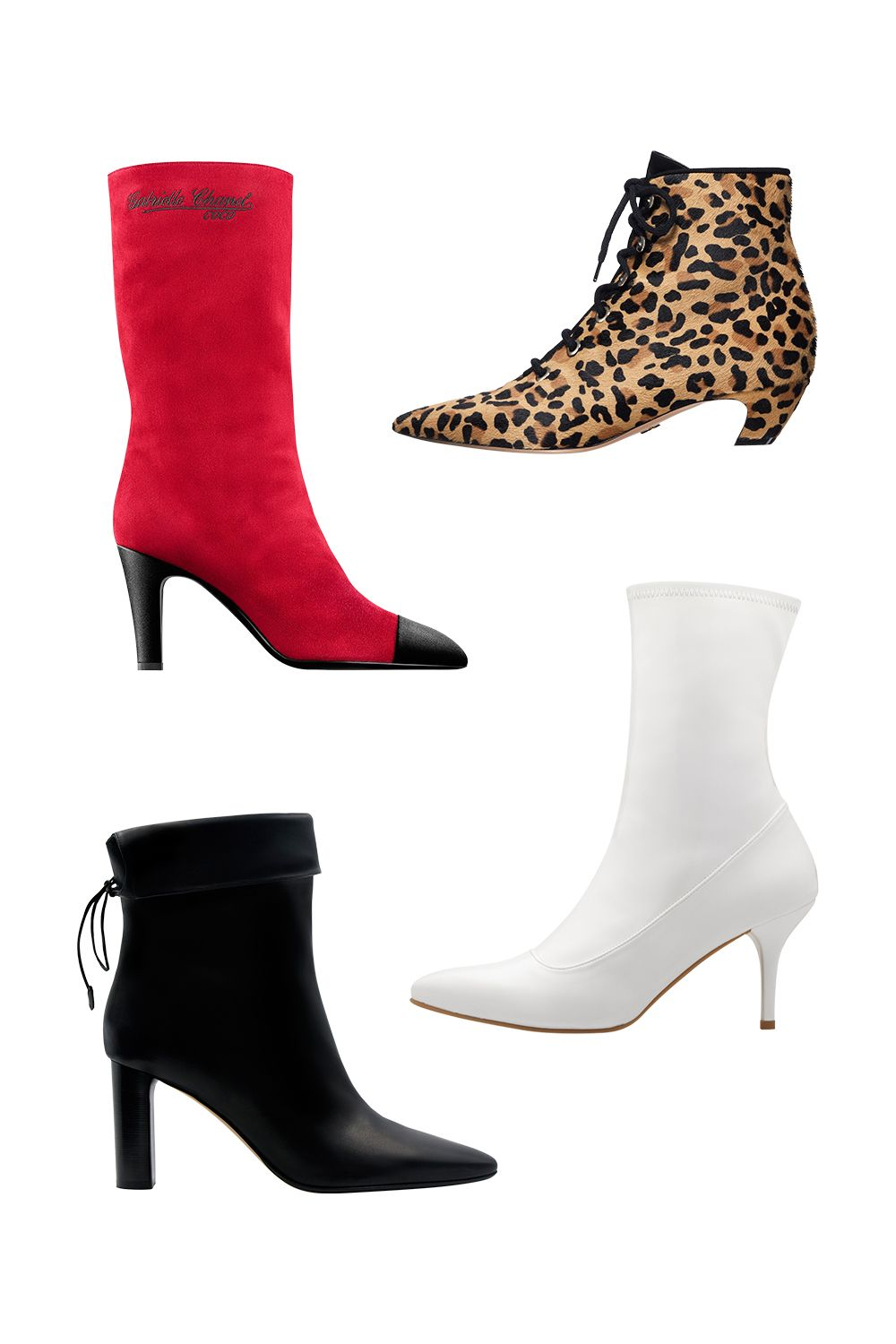 """<p>I live in boots and think they're perfectly appropriate for summer in the city. I'll wear mine with cuffed pants or skinnies, but try them with a dress—anything from a slip to a long, flowy maxi—to take you right out of boho territory. </p><p>(Clockwise from top left) </p><p>1. This one's a bit slouchy—pull it up for a longer hemline, or scrunch it low to give the mini some gravitas. </p><p> <em data-redactor-tag=""""em"""">Suede calfskin and satin boot, CHANEL, $1,450, call 800-550-0005</em><em data-redactor-tag=""""em""""></em><br> </p><p><span class=""""redactor-invisible-space"""" data-verified=""""redactor"""" data-redactor-tag=""""span"""" data-redactor-class=""""redactor-invisible-space"""">2. Pair a short dress with a boot that hits right at the ankle. </span> </p><p><span class=""""redactor-invisible-space"""" data-verified=""""redactor"""" data-redactor-tag=""""span"""" data-redactor-class=""""redactor-invisible-space""""><em data-redactor-tag=""""em"""">Pony hair ankle boot, DIOR, at Dior boutiques</em><span class=""""redactor-invisible-space"""" data-verified=""""redactor"""" data-redactor-tag=""""span"""" data-redactor-class=""""redactor-invisible-space""""><em data-redactor-tag=""""em""""></em></span></span> </p><p>3. A taller style is best for a maxidress: no gap between hem and shoe.</p><p><span class=""""redactor-invisible-space"""" data-verified=""""redactor"""" data-redactor-tag=""""span"""" data-redactor-class=""""redactor-invisible-space""""><em data-redactor-tag=""""em""""></em></span></p><p><i data-redactor-tag=""""i"""">Stretch patent leather boot, STUART WEITZMAN, $575, visit stuartweitzman.com</i></p><p><span class=""""redactor-invisible-space"""" data-verified=""""redactor"""" data-redactor-tag=""""span"""" data-redactor-class=""""redactor-invisible-space""""><span class=""""redactor-invisible-space"""" data-verified=""""redactor"""" data-redactor-tag=""""span"""" data-redactor-class=""""redactor-invisible-space""""><span class=""""redactor-invisible-space"""" data-verified=""""redactor"""" data-redactor-tag=""""span"""" data-redactor-class=""""redactor-invisible-space"""">4. </span></span></span>A cinched opening is the skinny jean's b"""