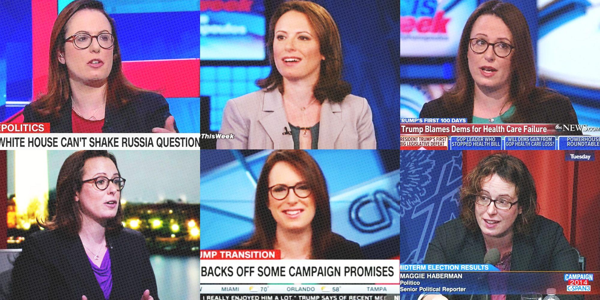 Maggie Haberman Profile - How Maggie Haberman Covers Donald
