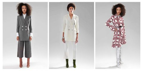 Clothing, White, Outerwear, Fashion, Fashion model, Sleeve, Sweater, Fashion design, Neck, Cardigan,