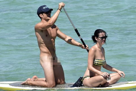 Orlando Bloom Katy Perry paddleboard