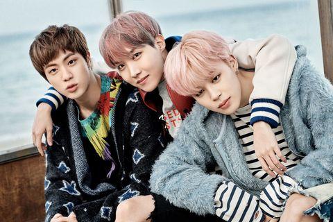 BTS Interview - Jin, Suga, J-Hope, Rap Monster, Jimin, V