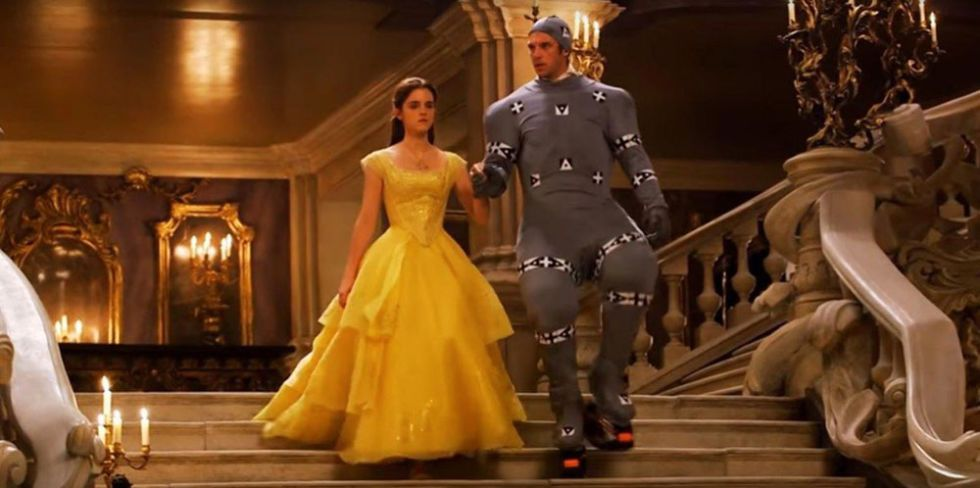 This Footage of Dan Stevens Filming 'Beauty And The Beast' in a CGI Suit Is Glorious