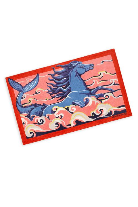 Hermes Cheval Marin Beach Towel 620