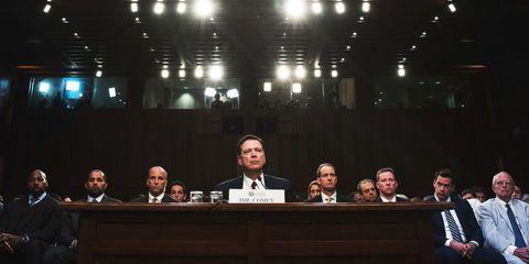 Read Former FBI Director James Comey's Full Senate Hearing Written Testimony