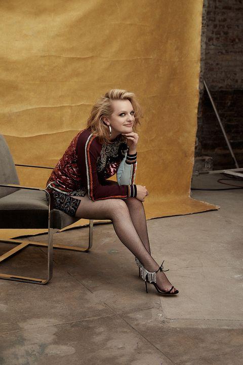 Elisabeth teen model legs fights strip free