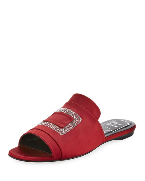 Footwear, Product, Red, Shoe, Sandal, Slipper, Slide sandal, Maroon, Strap, Magenta,