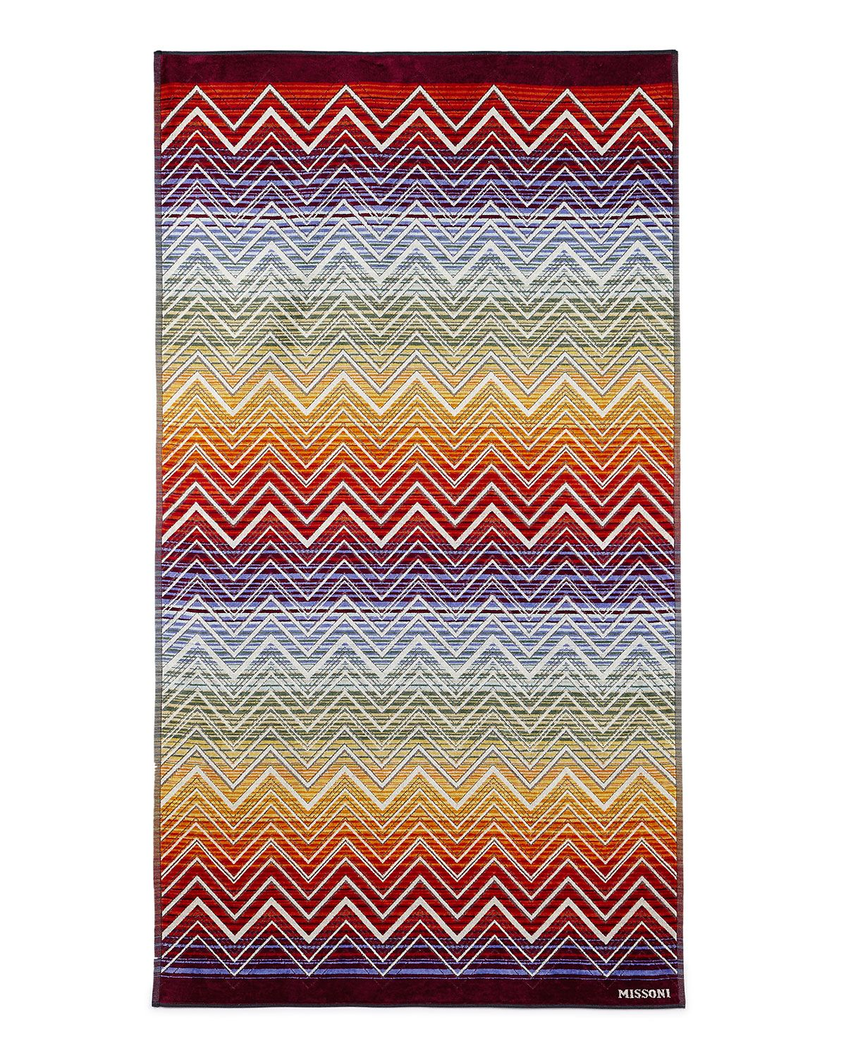 """<p>Crafted in luxe cotton, an oversized towel functions as a de facto beach blanket that you won't mind wrapping up in.</p><p><em data-redactor-tag=""""em"""" data-verified=""""redactor"""">Missoni Tolomeo Beach Towel, $248; </em><a href=""""http://www.neimanmarcus.com/Missoni-Tolomeo-Beach-Towel/prod199760044/p.prod"""" target=""""_blank"""" data-tracking-id=""""recirc-text-link""""><em data-redactor-tag=""""em"""" data-verified=""""redactor"""">neimanmarcus.com</em></a></p><p><a href=""""http://www.neimanmarcus.com/Missoni-Tolomeo-Beach-Towel/prod199760044/p.prod"""" target=""""_blank"""" data-tracking-id=""""recirc-text-link""""></a></p>"""