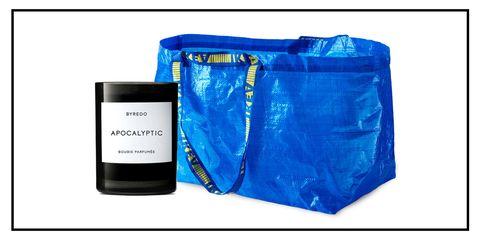Blue, Product, Bag, Electric blue, Plastic, Zipper,
