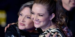 Billie Lourd's Tribute to Carrie Fisher