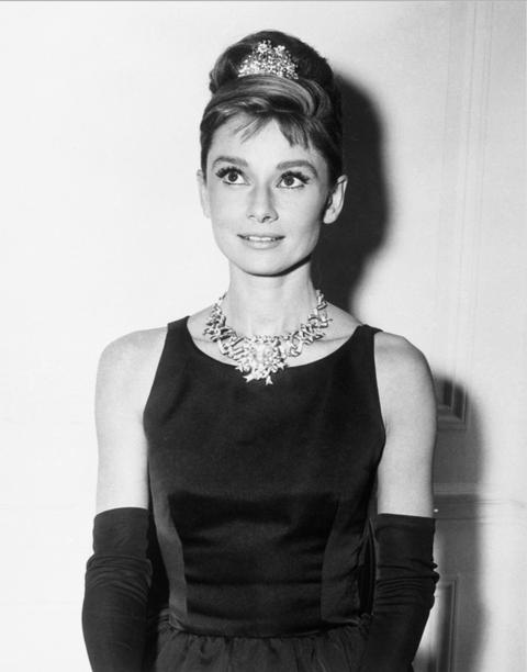 "<p>Playing Holly Golightly in <em data-redactor-tag=""em"">Breakfast at Tiffany's.</em></p>"