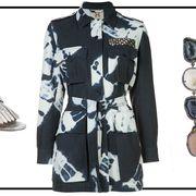 Product, Collar, Sleeve, Dress shirt, Textile, Outerwear, Style, Pattern, Blazer, Fashion,
