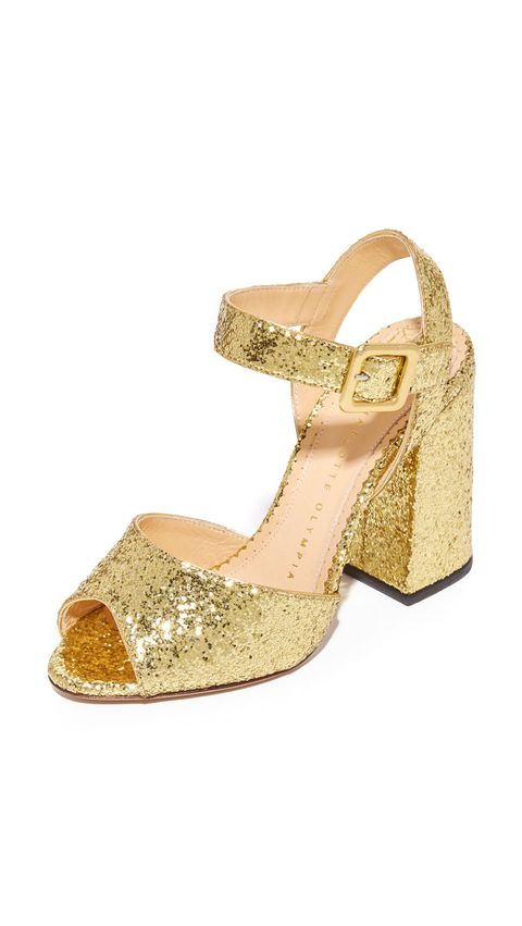 "<p> Charlotte Olympia Emma Block Heel Sandals, $266; <a href=""https://www.shopbop.com/emma-block-heel-sandal-charlotte/vp/v=1/1598526800.htm?folderID=17755&amp;fm=other-shopbysize-viewall&amp;os=false&amp;colorId=11739"">shopbop.com</a>&nbsp;</p>"
