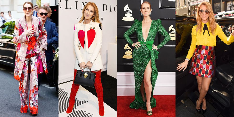 Celine Dion's Best Outfits