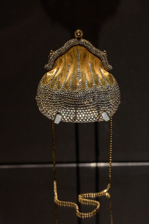 """<p>Leiber's favorite bag is her elegant 1967 Chatelaine design, because it was the first metal bag she made. It was also the turning point for her. """"When the samples came in, it looked awful, because the bottom was greenish and looked very bad,"""" recalls Leiber. """"I had to salvage it and decided to fix it by applying crystal rhinestones to the metal bag."""" The bag turned out to be, to put it mildly, a huge success, and was the beginning of her rhinestone beaded bags.</p><p>Leiber says she made quick sketches, but never designed her bags on paper. """"I never really made complicated or intricate drawings. I went straight to the cutting table with my ideas and created a pattern for a bag I was designing,"""" she says. <br></p>"""