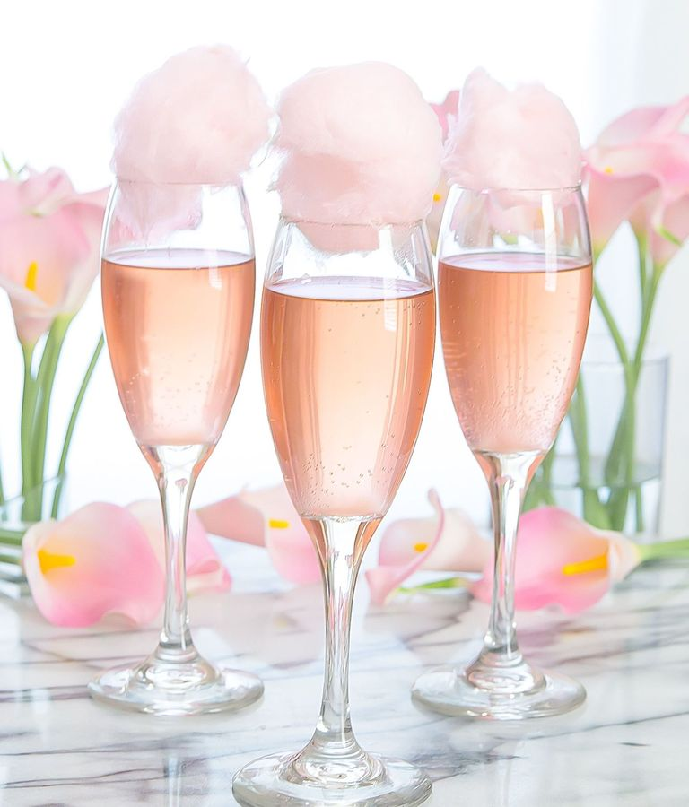 "<p>Okay, so this is basically just a fancy cocktail, but you have to admit that cotton candy dipped in champagne sounds pretty irresistible! Although you can make this special drink with any <a href=""http://www.elledecor.com/life-culture/food-drink/g3387/champagne-cocktails/"" target=""_blank"">sparkling wine</a>, we recommend rosé champagne because, duh!</p><p><em data-redactor-tag=""em""><a href=""http://kirbiecravings.com/2016/07/cotton-candy-champagne-cocktails.html"" target=""_blank"">Via Kirbie's Cravings</a></em></p>"