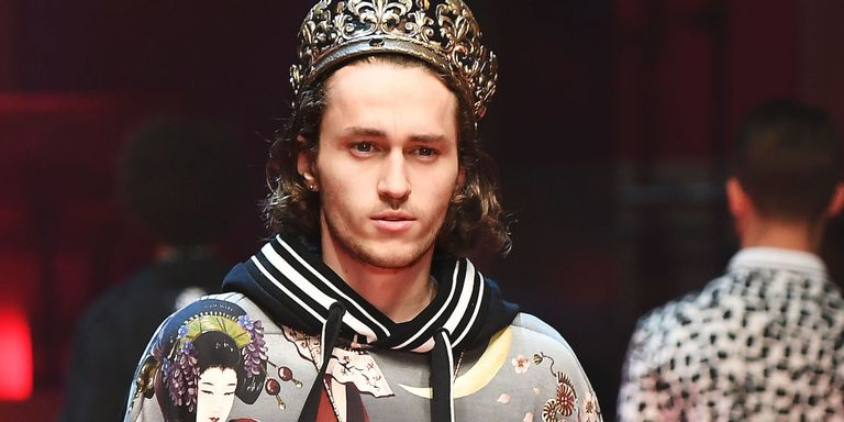 Miley Cyrus' Brother Just Made His Runway Debut In Dolce