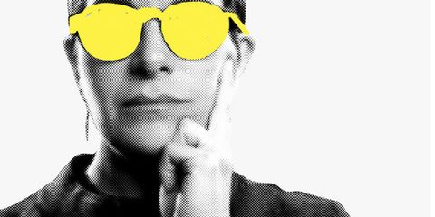 Eyewear, White, Face, Yellow, Head, Glasses, Sunglasses, Colorfulness, Cool, Illustration,