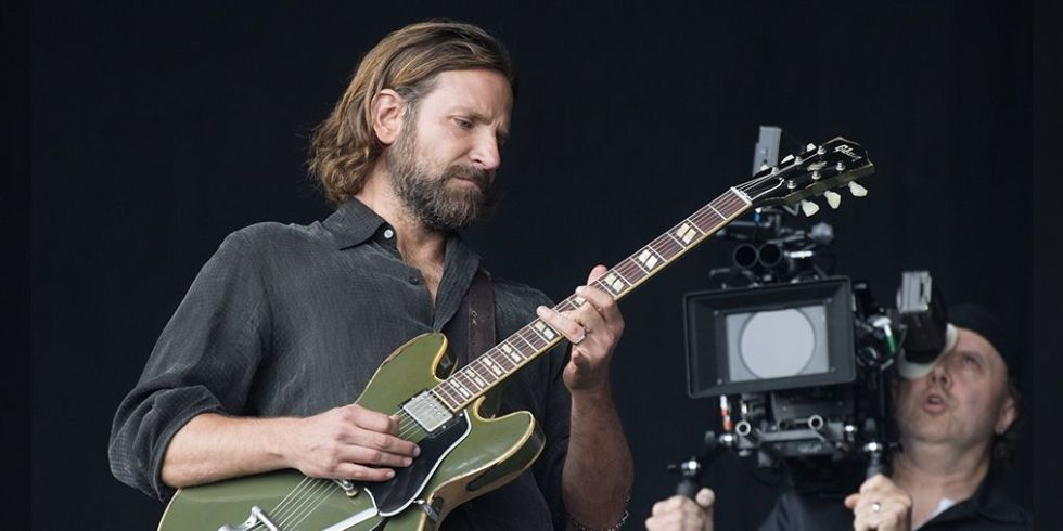 Bradley Cooper Performed at Glastonbury, So He's Officially a Rock Star Now