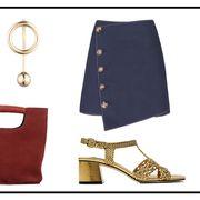 Fashion, Footwear, Beige, Fashion accessory, Leather, Shoe, Shorts, Belt,