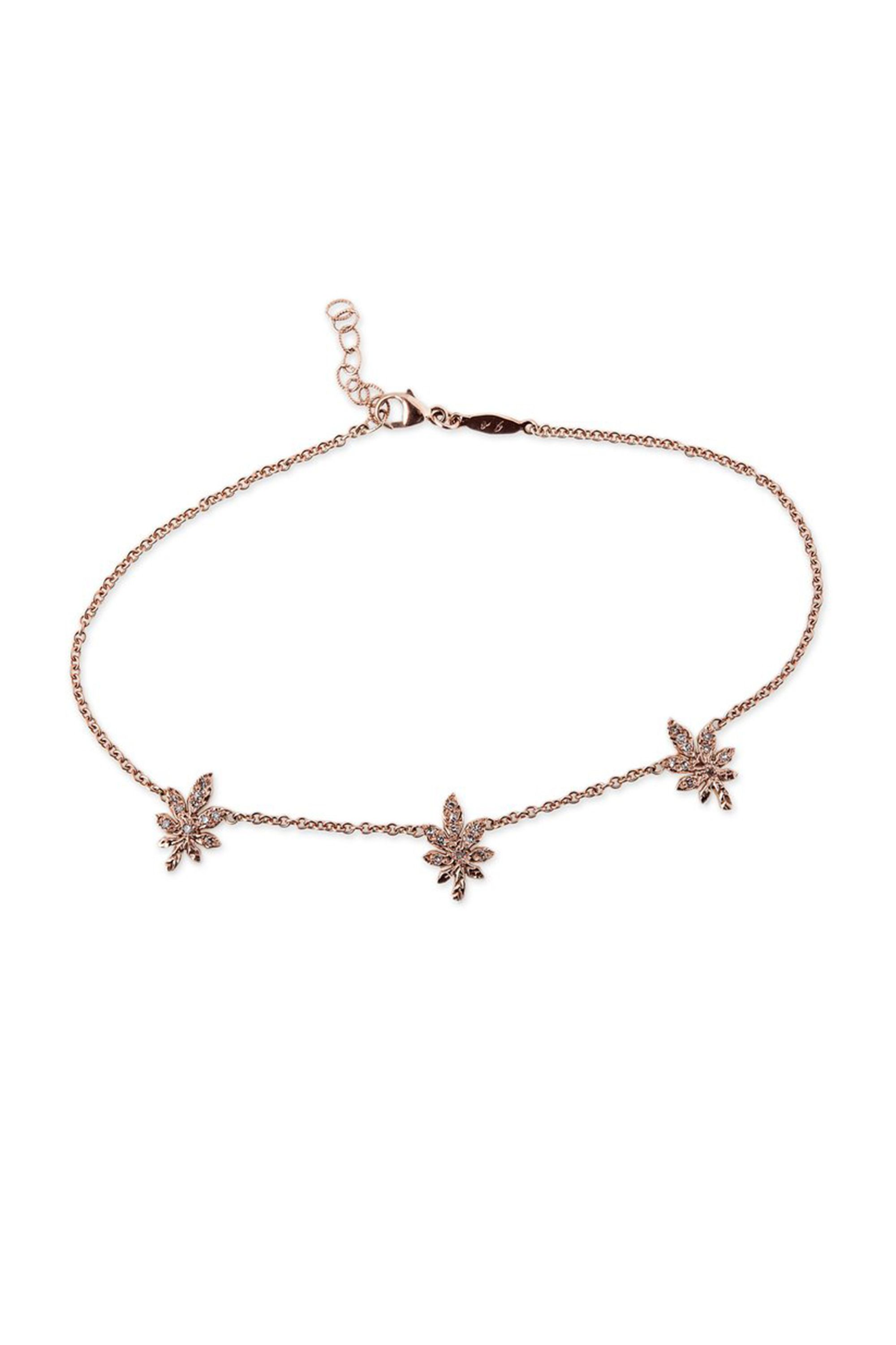 star and design women pure sale just anklet flower bracelet bracelets jewels white gold online for shop heart womens