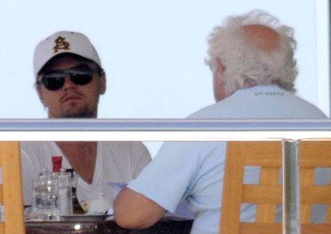Leonardo DiCaprio boat