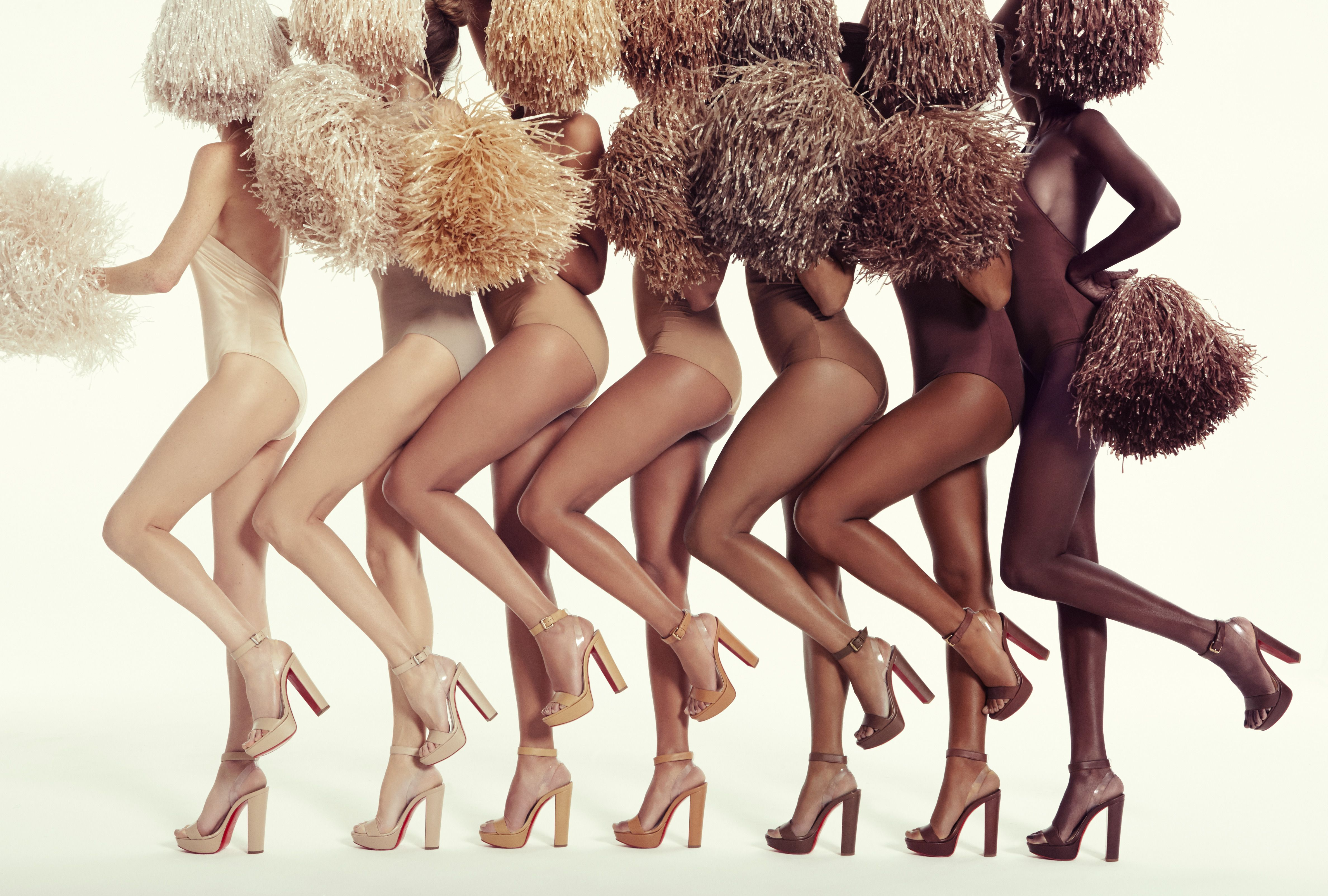 29dc76fd1 Christian Louboutin Debuts High Heel Sandals for a Range of Skin Tones