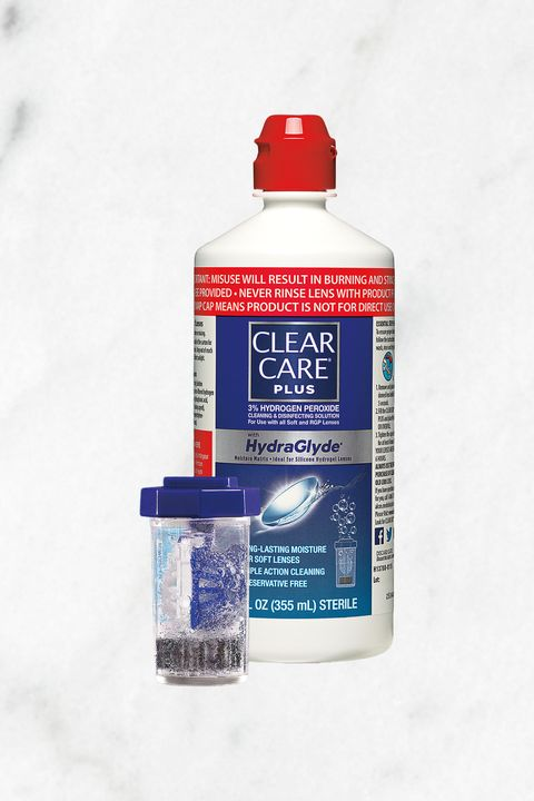 "<p>This solution disinfects dirty lenses overnight, leaving contacts crystal clear, hydrated, and feeling fresh, like new. Even better: The clear case and hydrogen peroxide-powered bubbles are actually kind of pretty. </p><p><em data-redactor-tag=""em"">        CLEAR CARE® PLUS <span class=""redactor-invisible-space"" data-verified=""redactor"" data-redactor-tag=""span"" data-redactor-class=""redactor-invisible-space""></span>Contact Lens Solution, $10; <a href=""http://www.target.com/p/contact-lens-solution/-/A-49132684?ref=tgt_adv_XS000000&amp;AFID=google_pla_df&amp;CPNG=PLA_Health+Beauty+Shopping&amp;adgroup=SC_Health+Beauty&amp;LID=700000001170770pgs&amp;network=s&amp;device=c&amp;location=1023191&amp;gclid=CJOY_MPwnNMCFQiHaQodGzMP-g&amp;gclsrc=aw.ds"" target=""_blank"">target.com</a></em></p>"