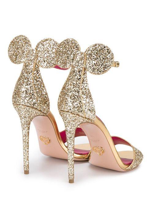 Footwear, High heels, Pink, Shoe, Basic pump, Glitter, Bridal shoe, Court shoe, Leg, Fashion accessory,