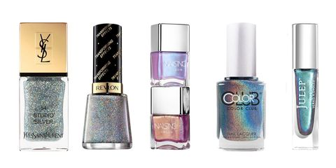 The Chrome Nail Trend Is Still Going Strong Take Cosmic Shortcut With Holographic Polishes That Imitate Salon Made Look In A Single Swipe