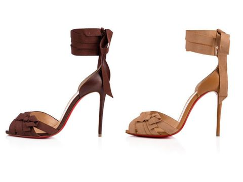f42d13965f91 Christian Louboutin Debuts High Heel Sandals for a Range of Skin ...