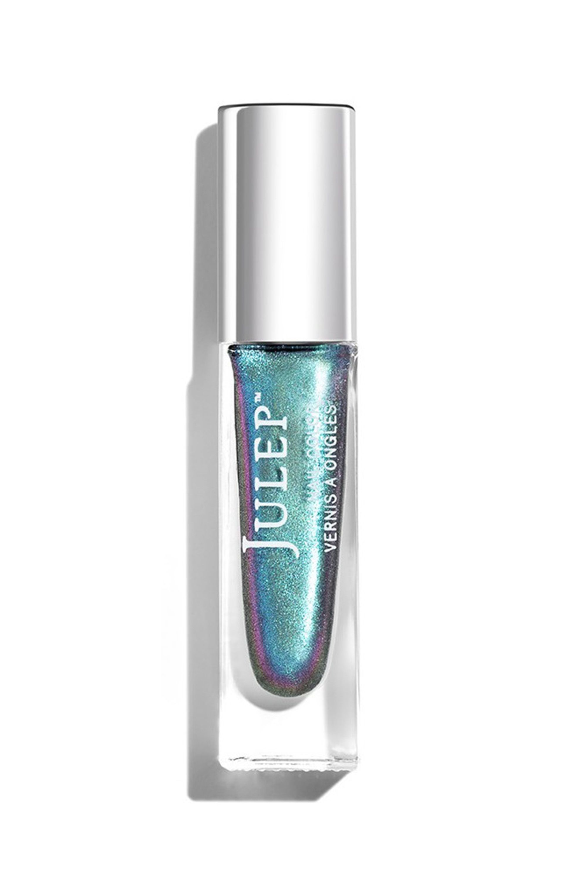 """<p>Julep Zodiac Collection Nail Polish in Aquarius, $14;<a href=""""http://www.ulta.com/zodiac-collection-nail-polish?productId=xlsImpprod16281047&sku=2515259&cmpid=PS_Non!google!Product_Listing_Ads&cagpspn=pla&CATCI=pla-258456467402&CAAGID=33247891643&CAWELAID=330000200001188269&catargetid=330000200000860972&cadevice=c&gclid=COuVoMbn5dQCFctLDQodz8sJDA"""" target=""""_blank"""" data-tracking-id=""""recirc-text-link"""">ulta.com</a> </p><p><span class=""""redactor-invisible-space"""" data-verified=""""redactor"""" data-redactor-tag=""""span"""" data-redactor-class=""""redactor-invisible-space""""></span></p>"""