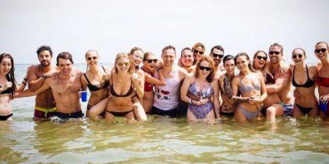 Fun, Vacation, Event, Bathing, Recreation, Spring break, Leisure, Bikini,