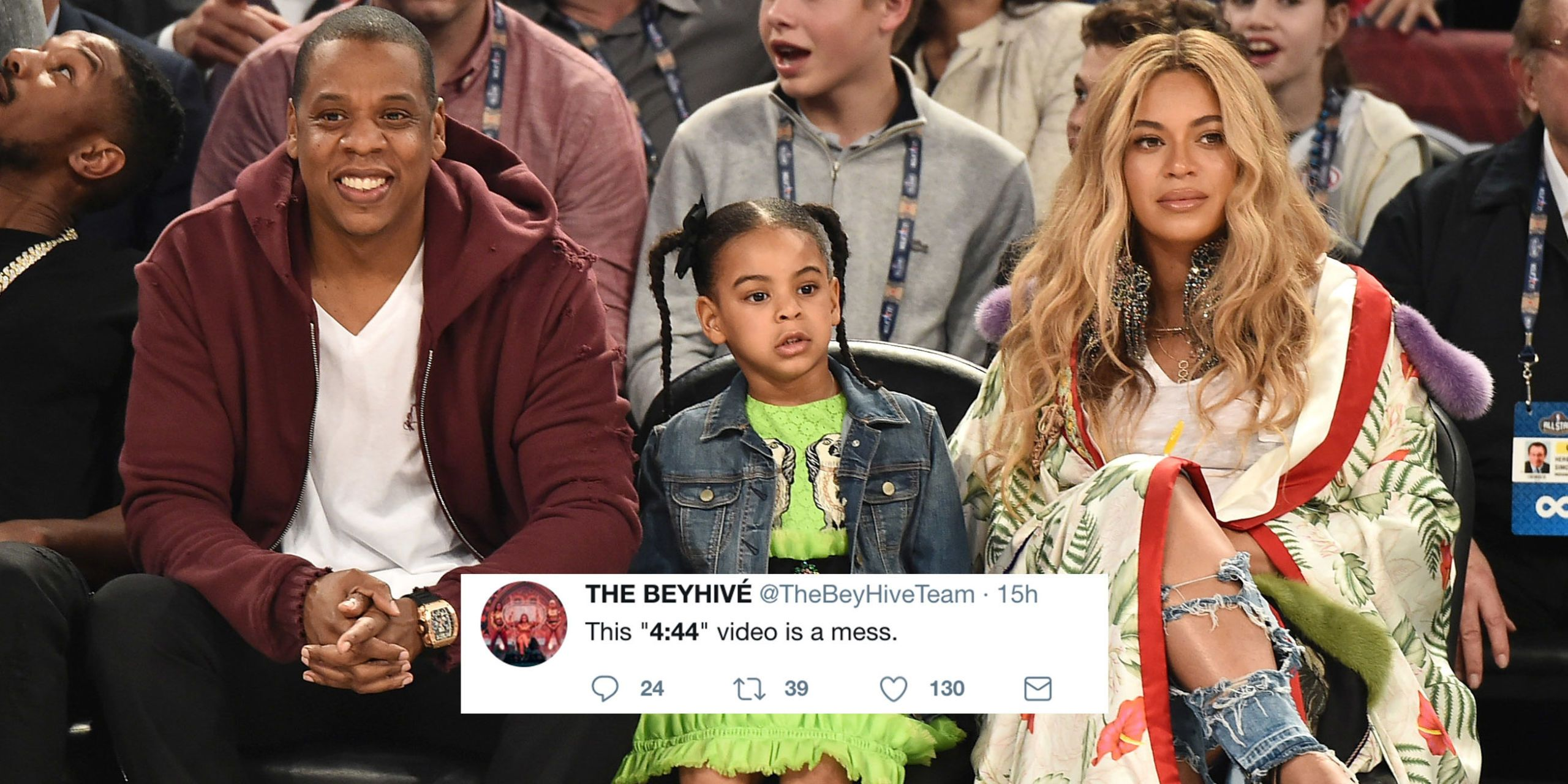 """Beyoncé Fans Aren't Happy About Jay Z's """"4:44"""" Video"""