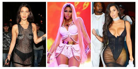 27 Times Celebrities Wore Underwear as Clothing