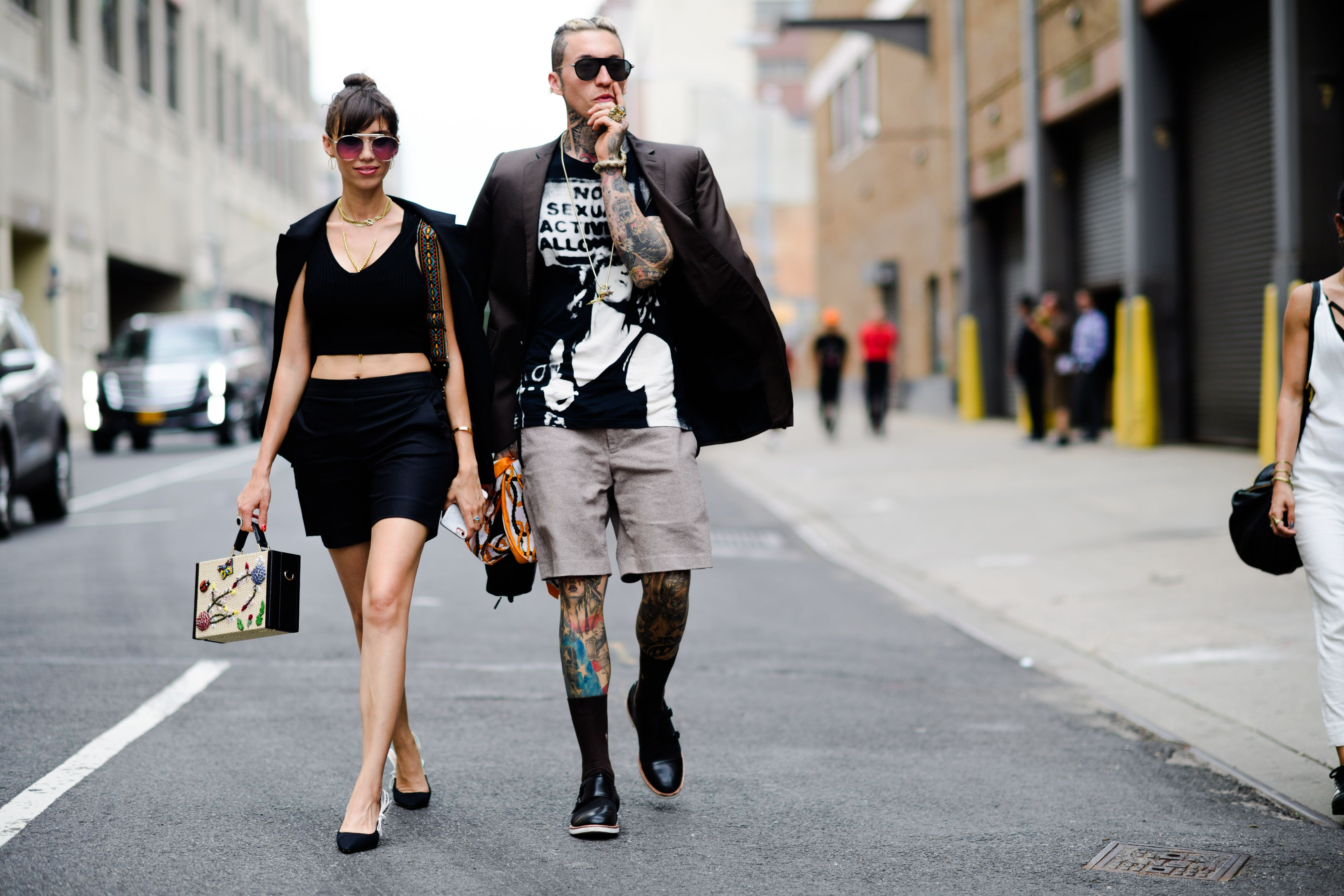 The Best Street Style From Men S New York Fashion Week