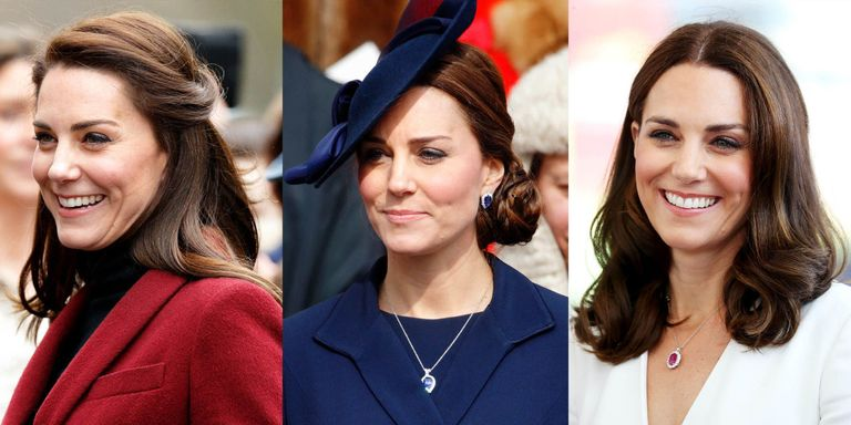 Kate Middleton S 37 Best Hair Looks Our Favorite Princess Kate Hairstyles