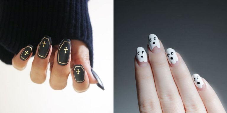 17 Halloween Nail Designs That Are Better Than A Costume - 17 Halloween Nail Art Ideas For 2017 - Cute Nail Designs For