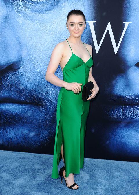 Clothing, Fashion model, Dress, Green, Cobalt blue, Fashion, Premiere, Cocktail dress, Shoulder, Electric blue,