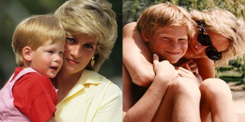 New photos of Princess Diana released by William and Harry
