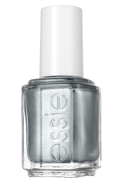 "<p>Essie No Place Like Chrome,&nbsp;$9;&nbsp;<a href="" http://www.essie.com/effects/mirror-metallics/no-place-like-chrome.aspx"" data-tracking-id=""recirc-text-link"">essie.com</a><a href=""http://www.essie.com/effects/mirror-metallics/no-place-like-chrome.aspx""></a></p>"