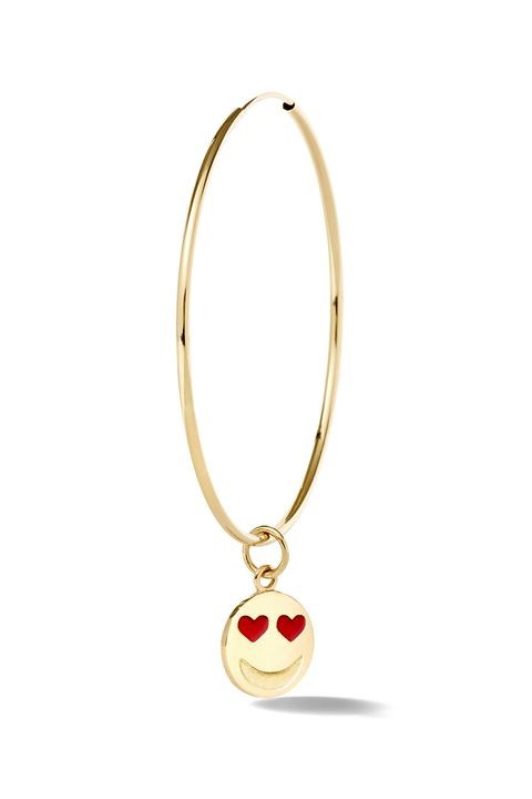 """<p>Alison Lou Single Large Endless Hoop, $740;&nbsp;<a href=""""https://www.alisonlou.com/collections/earring/products/single-large-endless-hoop"""" target=""""_blank"""" data-tracking-id=""""recirc-text-link"""">alisonlou.com</a></p>"""